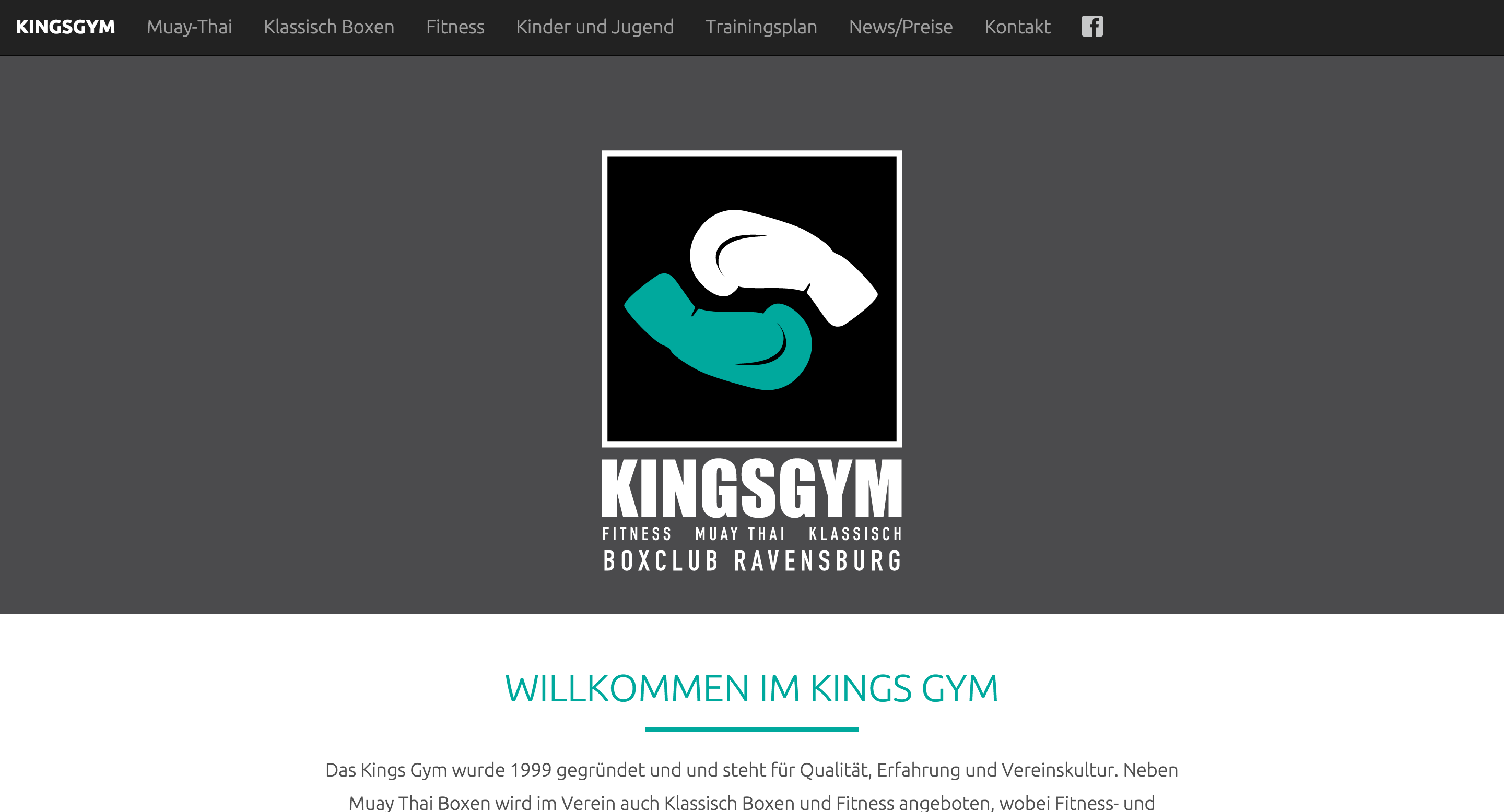 Kings Gym Web